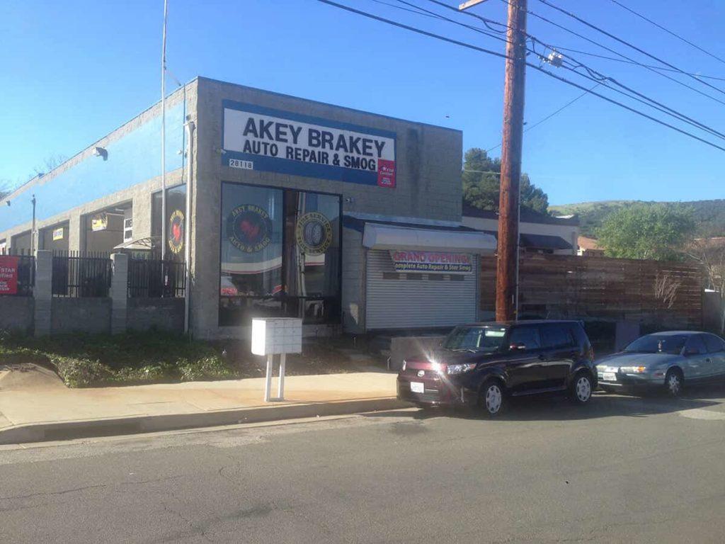 Akey Brakey Auto Repair   $34.95 Smog Check   Agoura Hills CA